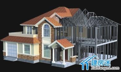轻钢结构房屋技术探讨:轻钢结构别墅为什么在我国发展