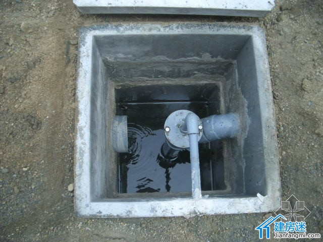 自建房的化粪池原理,地基原理,怎么埋管,