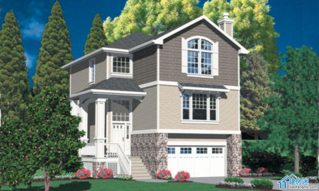 农村新户型房子地基-自建房 房屋设计图