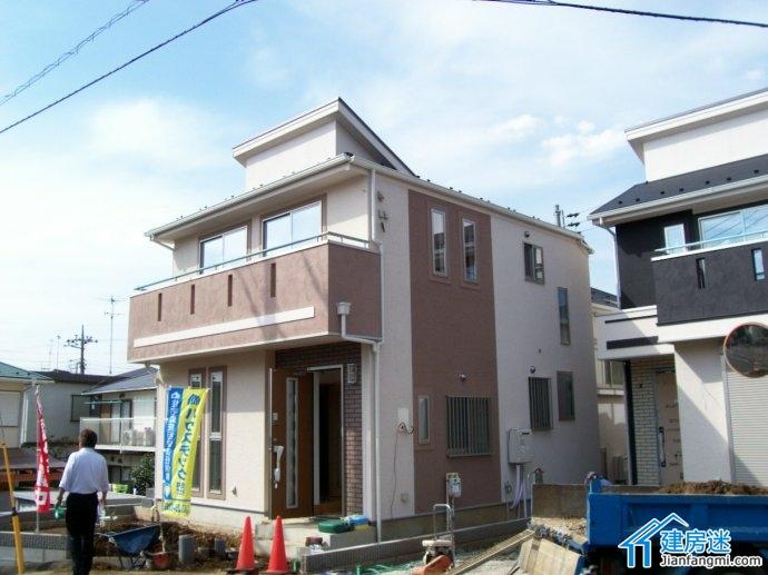 日式现代风格住宅效果图
