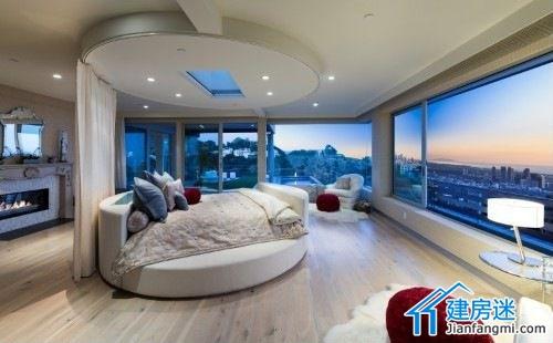 图    新农村自建房卧室装修效果图,别墅卧室装修都可以参考