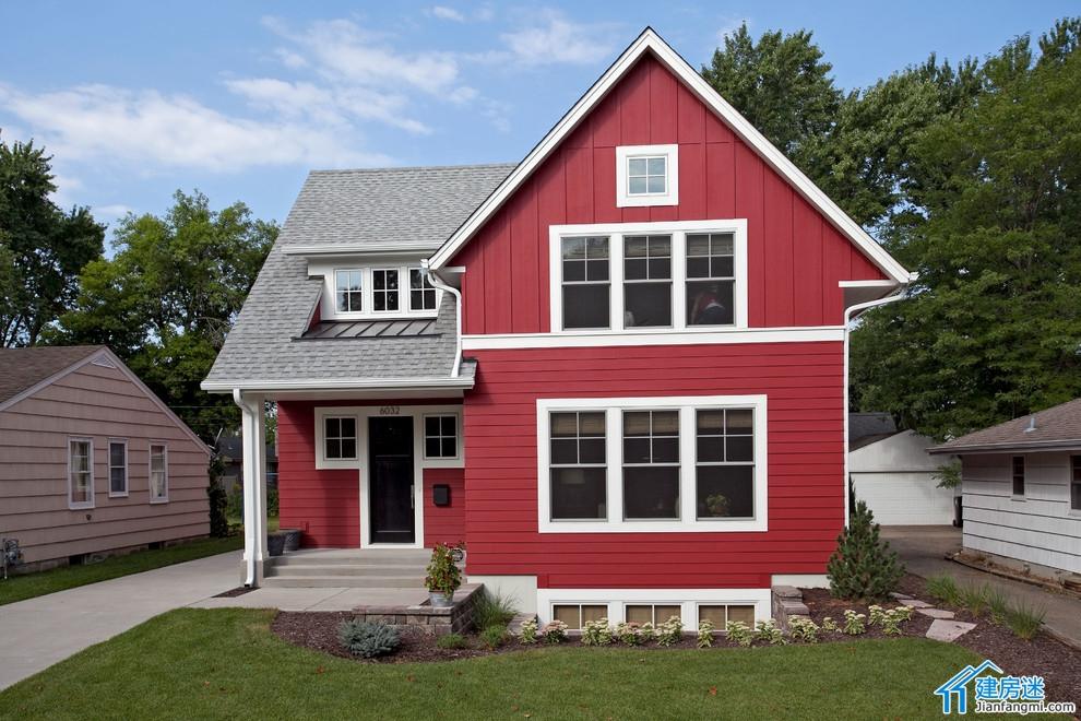 建房小户型房屋设计图,70平米左右占地面积,两层小别墅欣赏