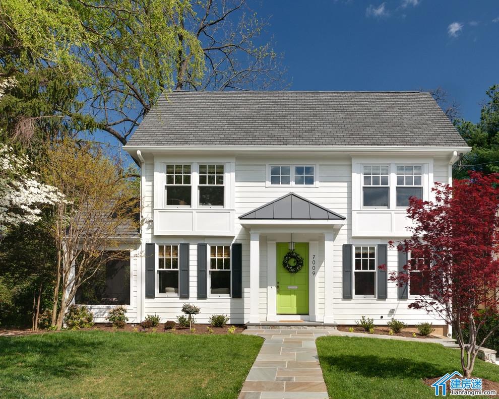 八点别墅设计]两层美国乡村风格小别墅