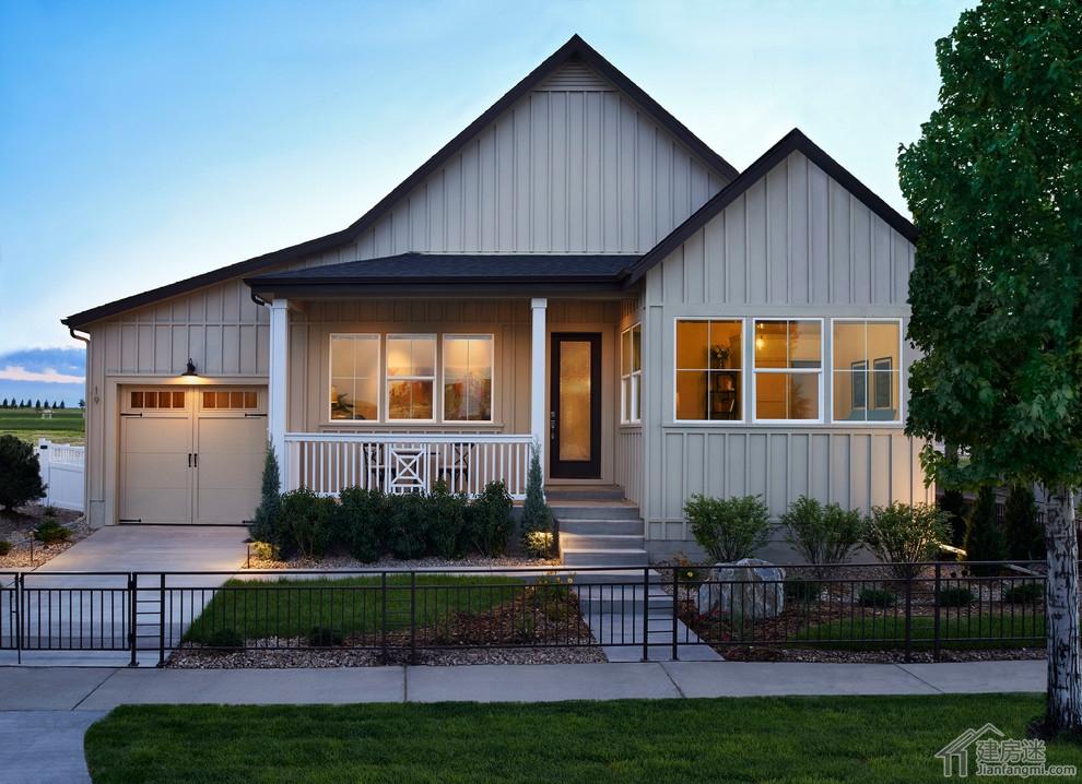 新农村自建房设计图免费参考,美国丹佛独栋小别墅欣赏