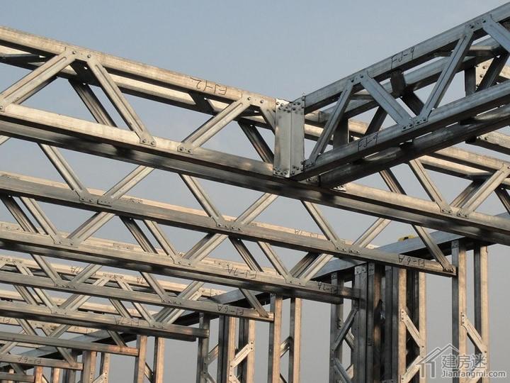 轻钢别墅房屋结构材料