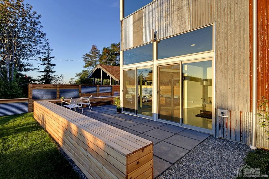 农村房屋太阳能住宅效果图,农村住宅建筑利用太阳能有