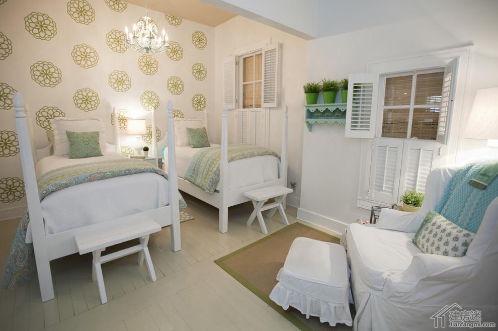 新农村自建房卧室装修效果图,别墅卧室装修都可以参考