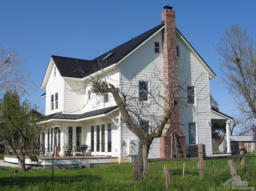 农村自建房设计图两层三大间15米X8米240平米轻钢结构别墅设计参考