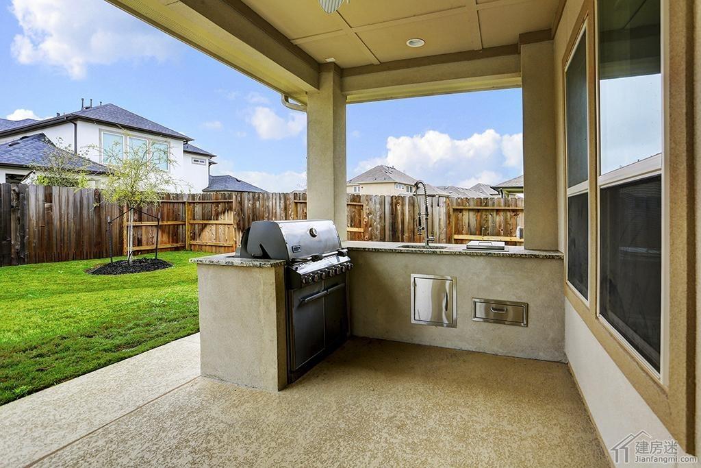 500平米两层美式别墅设计效果图欣赏土豪造别墅参考