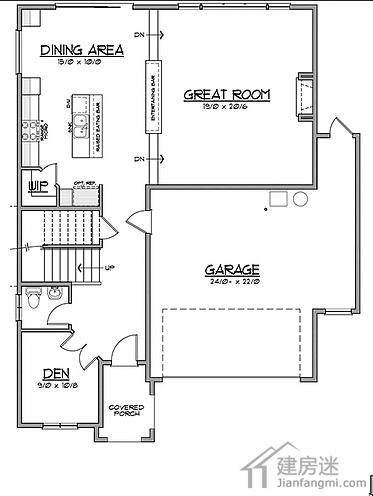 农村别墅设计图纸及效果图大全两层三大间120平米