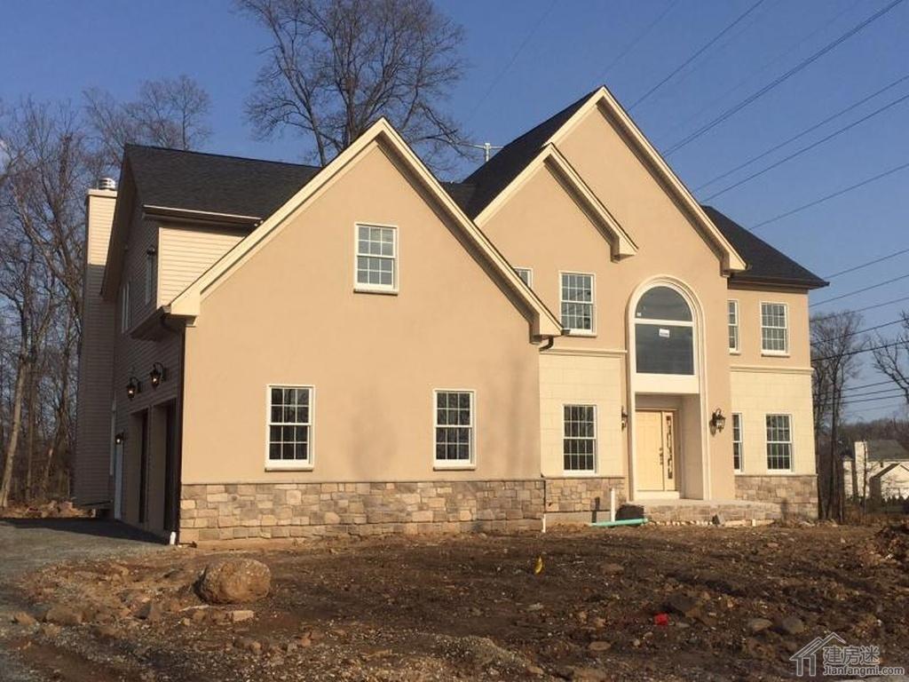 2015新农村自建房设计图参考美式轻木轻钢结构140平米
