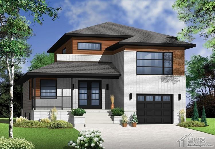 米x12米新农村住宅设计图两层四房轻钢结构设计图纸