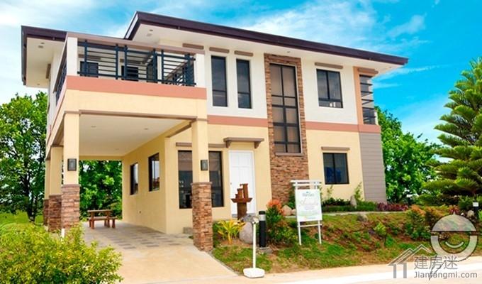 米两层小户型经济型别墅
