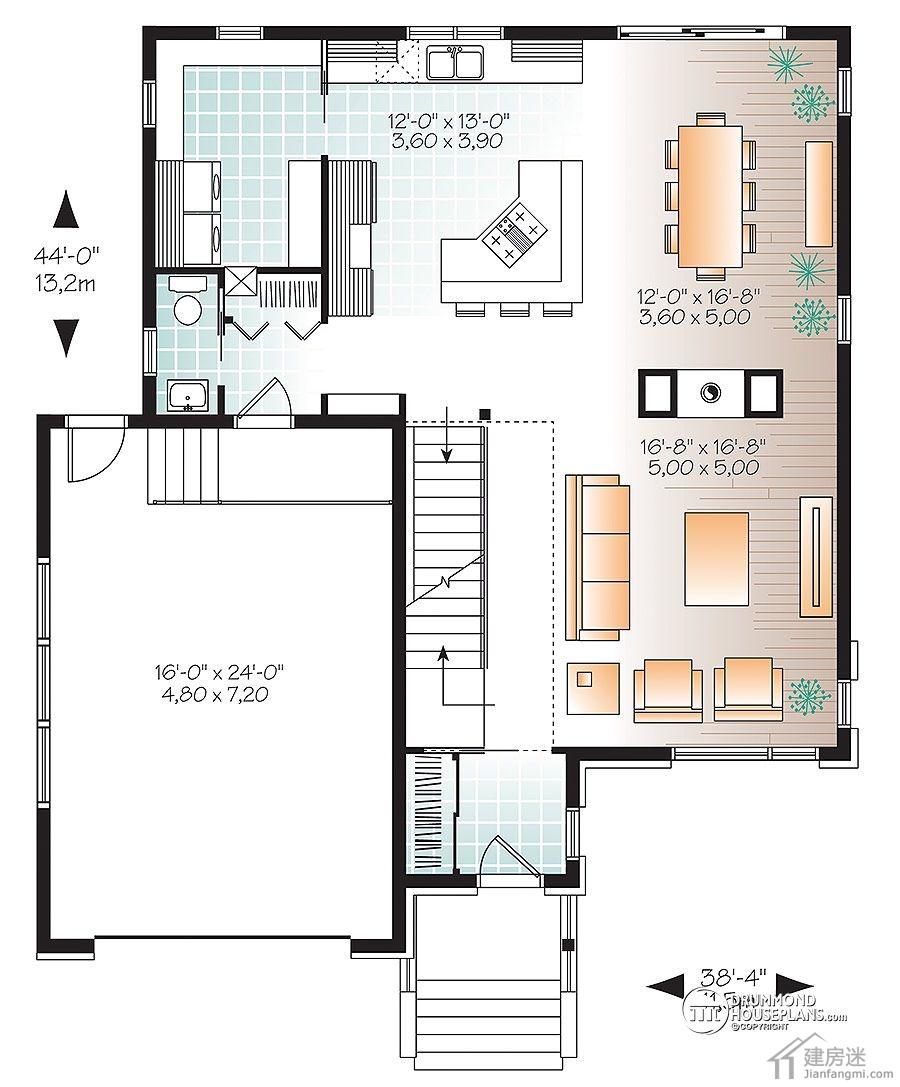 摘要: 建房迷今天给大家带来这套自建房简约风格12米X13米150平米两层架空房屋设计图,差不多的户型我们之前也分享过,不过这个面积相对大一些,并且布局上面个人认为也更加合理。 这套新农村自建房简约风格12米X13米150 ...
