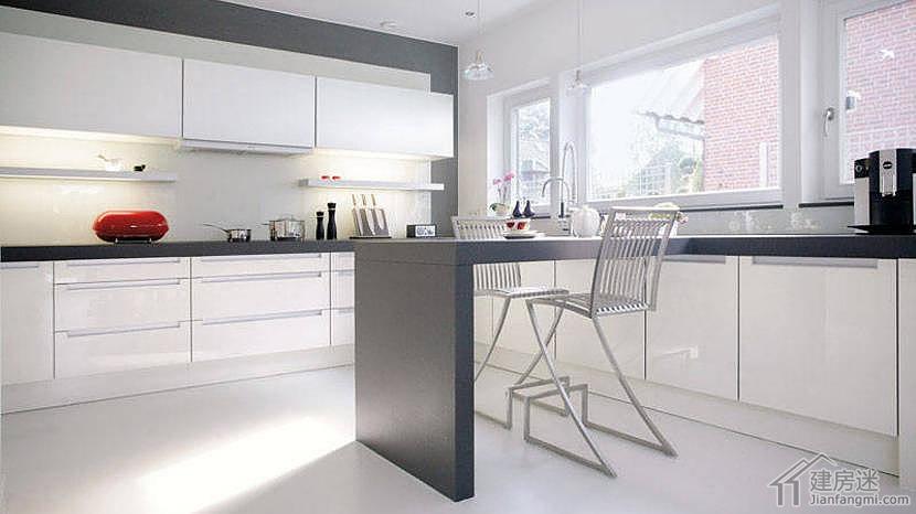 欧式现代简约风格两层100平米别墅设计图适合北方