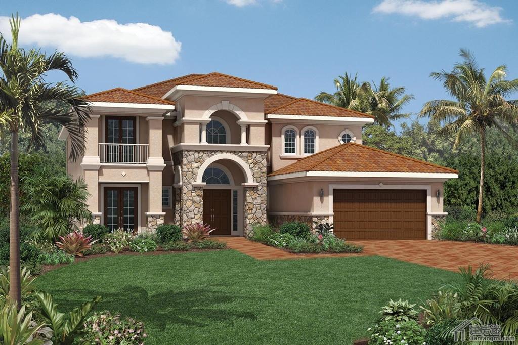 别农村自建房屋设计图200平米地基两层豪华别墅设计图