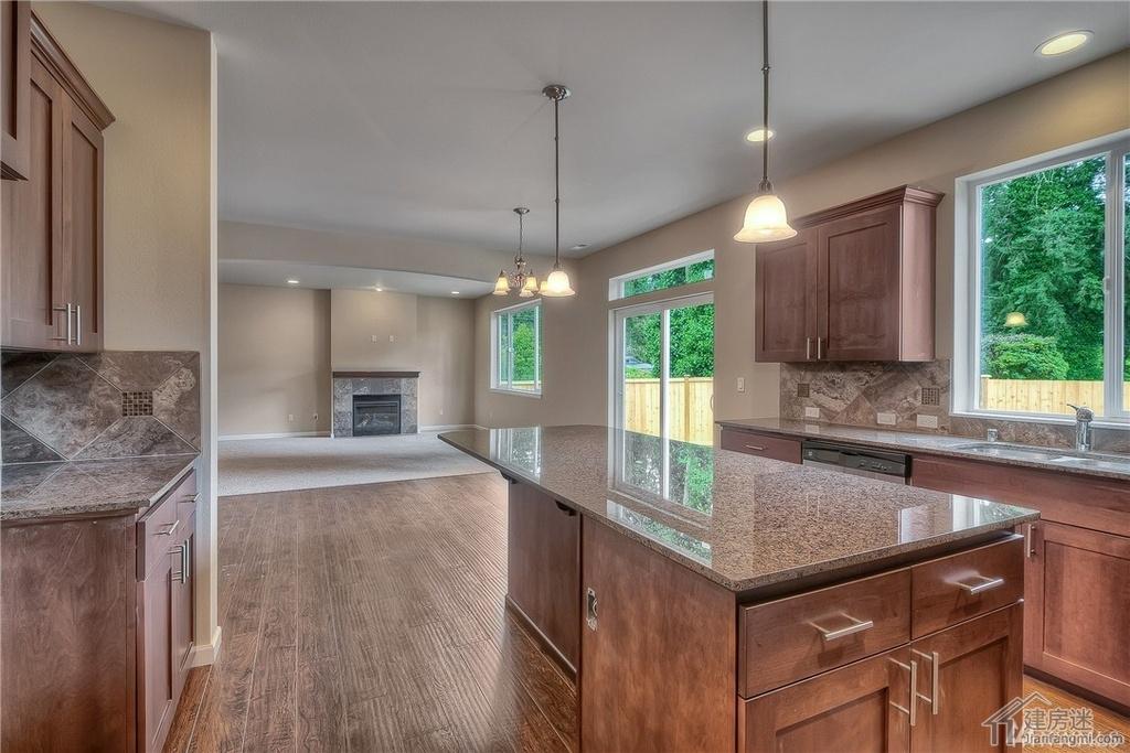 米X12米两层120平米轻钢轻木结构房屋设计图