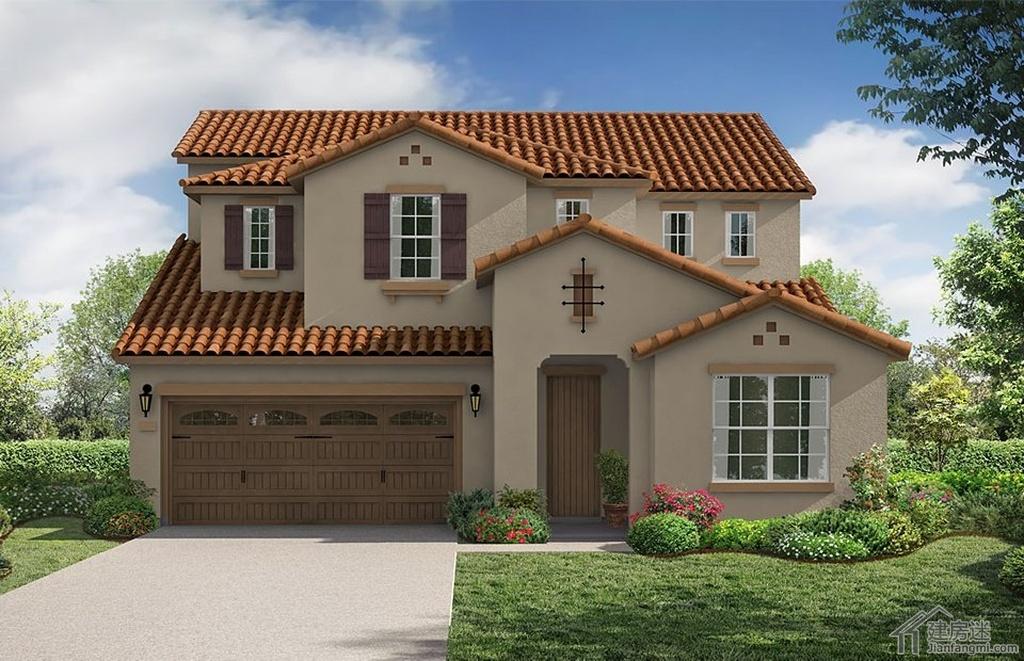 新农村二层房屋设计图12米X14米轻钢结构别墅设计首选