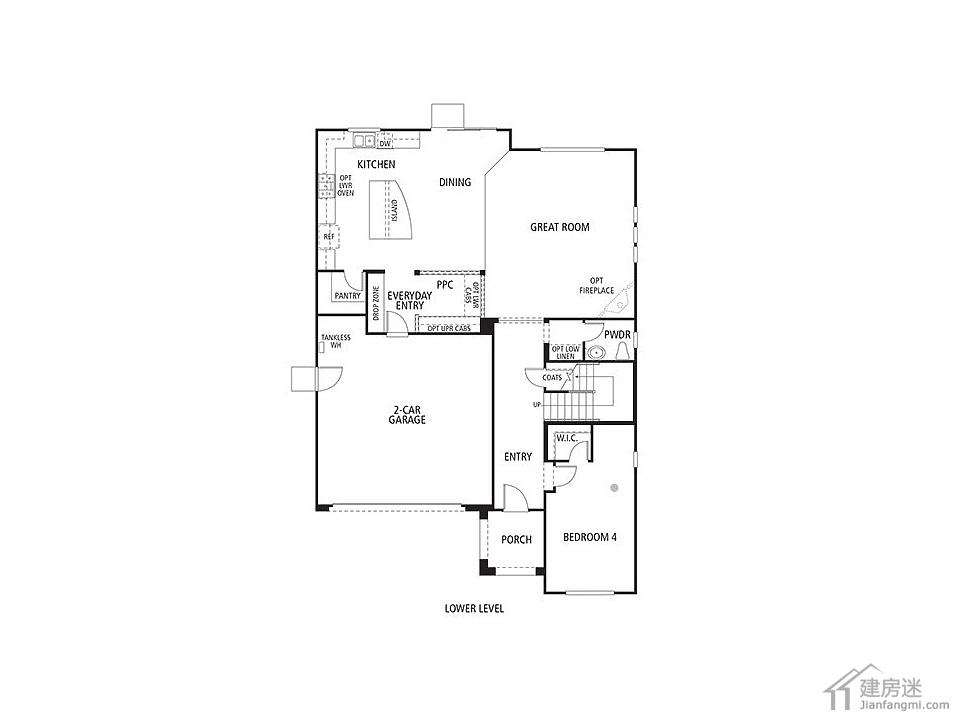 新农村二层房屋设计图12米x14米轻钢结构别墅设计