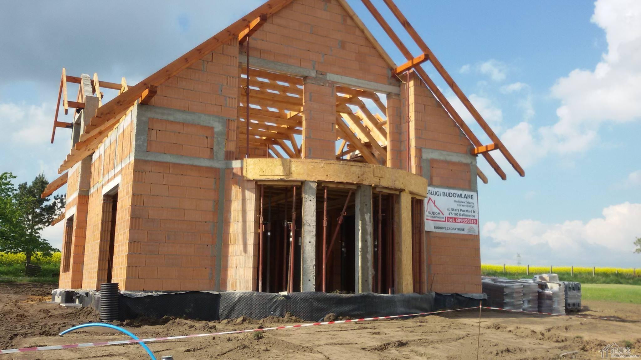 欧式风格两层三大间120平米砖混轻钢别墅设计图纸heliodor