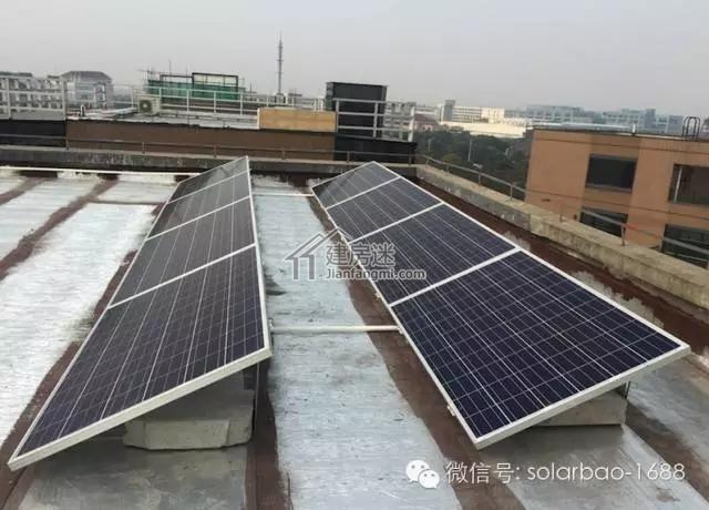 上海宝山农村自建房家用太阳能发电系统安装实例