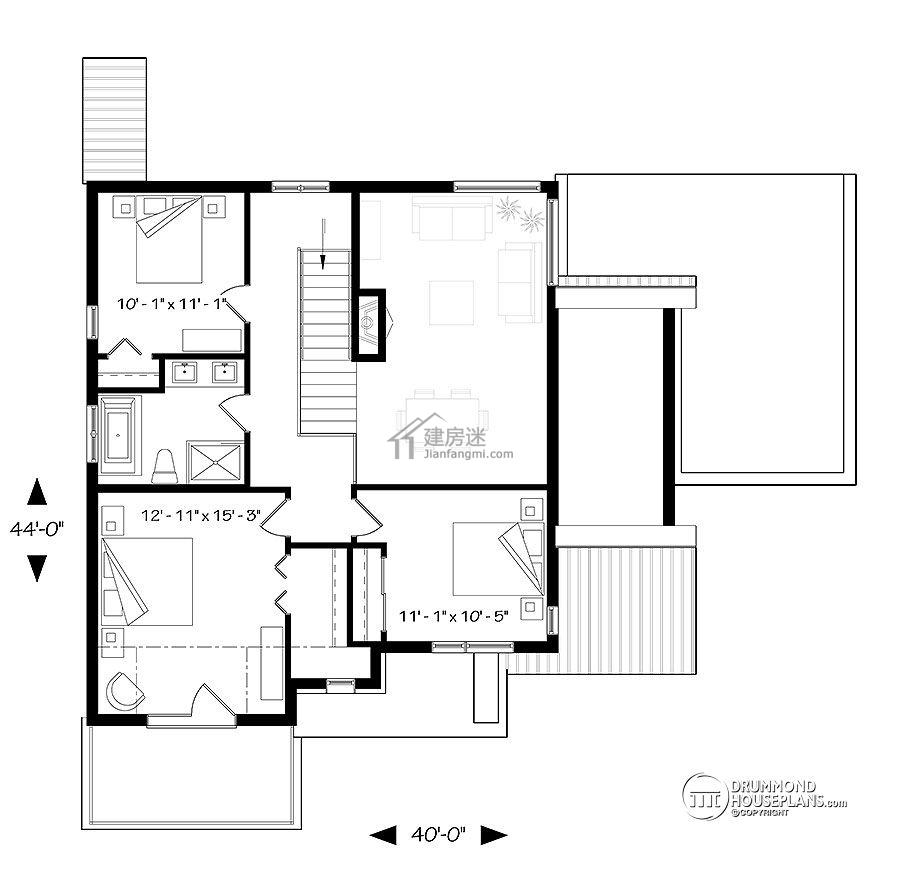 房屋设计图12米x13米独栋两层别墅设计图片大全图片