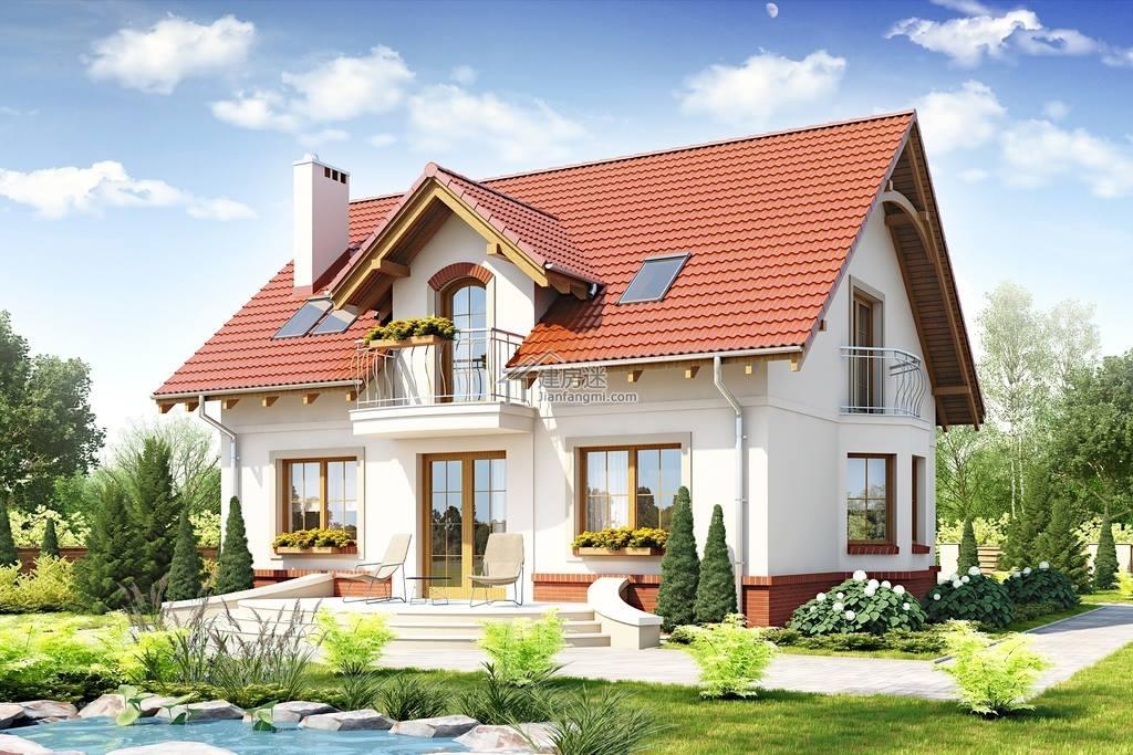 10米x9米房屋设计图农村90平米独栋两层别墅设计图片大全