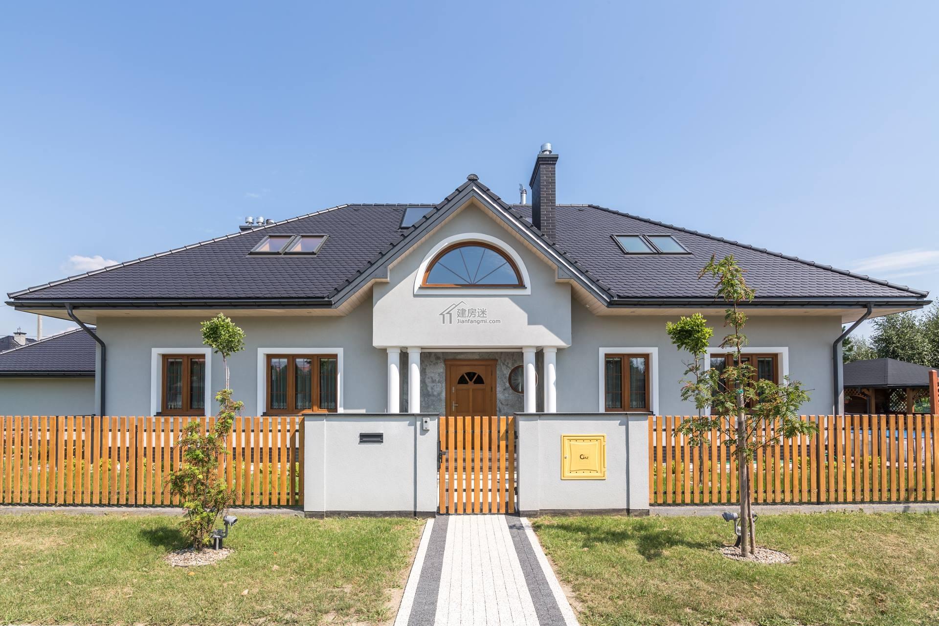 农村自建房子设计图两层带地下室10米x10米钢结构自建图片