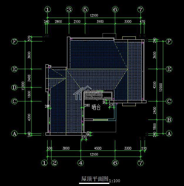 单家独院式12.1*12m两层农村自建房有什么可以免费领红包图