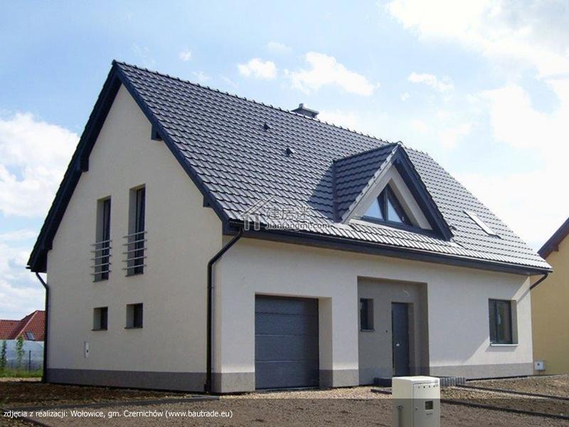 农村自建房13米x9米欧式小户型两层尖顶别墅设计图含实拍以及视频