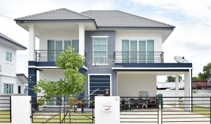 二层别墅设计图纸  2019年9月23房屋概况:本户型为农村二层楼简单大气
